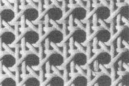 Gewebe Achteckgeflecht lackierbar, 90 cm breit.