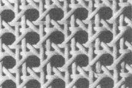 Gewebe Achteckgewebe 45 cm breit glänzend