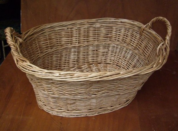 Wäschekorb traditionelle Herstellung Größe 50